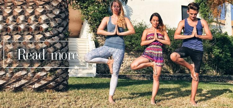 4 poziții de YOGA pentru o zi excelentă /  4 YOGA poses for a better day