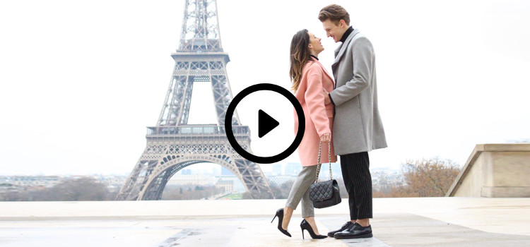 VIDEO: 60 seconds in Paris