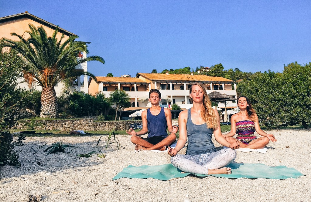 yoga at home for beginners